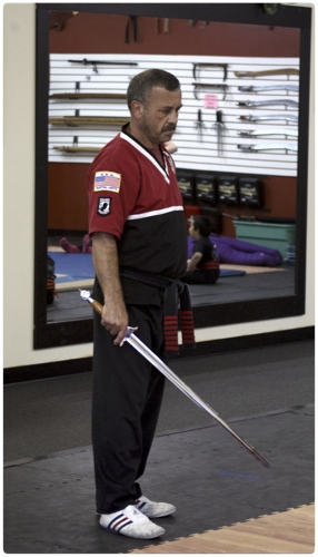 Shihan Lima with Sword